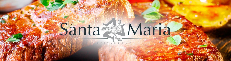 La Santa Maria Restaurant Valence viandes et poissons