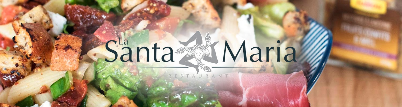 La Santa Maria Restaurant Valence salades